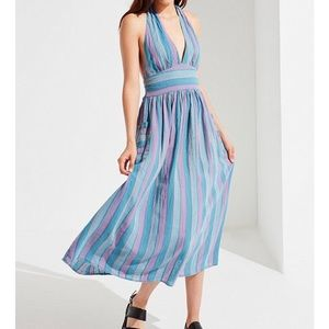 URBAN OUTFITTERS Halter Top Dress